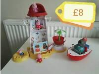 Peppa pig beach lighthouse bundle