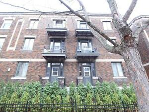 3 1/2 - Renovated - By Plateau - spacious  - near all amenities