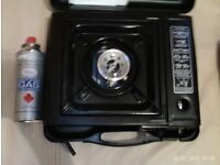 PORTABLE GAS STOVE AND GAS CARTRIDGES