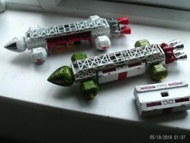 DINKY SPACE 1999 EAGLES PLUS SPARE POD VGC 07985733189 80.00