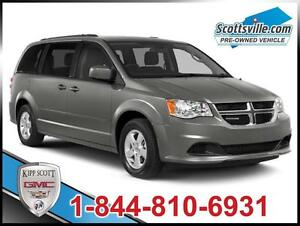 2013 Dodge Grand Caravan SXT, Cloth, DVD, 3-Zone A/C, Uconnect