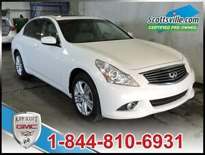 2012 Infiniti G37X AWD, Sunroof, Leather, Premium Audio