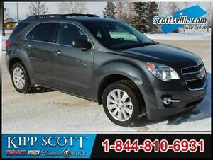 2010 Chevrolet Equinox LT AWD, Cloth, Bluetooth, Remote Start
