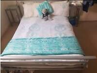 Double bed amd mattress