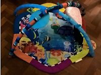Baby Einstein baby gym with lightup musical toy