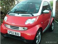 VERY LOW MILLAGE ONLY** 12,000 **MILES SMART PASSION CAR WITH A FULL SERVICE HISTORY LOOKS LIKE NEW
