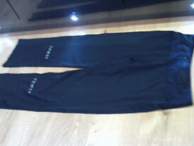 RONHILL training trousers size 10 , black