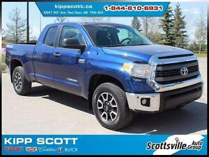 2014 Toyota Tundra TRD Off-Road, Cloth, Chrome, Premium Audio