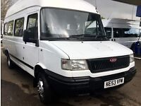LDV MINIBUS 17 SEATS 2.5 DIESEL SCHOOL OWNED HIGHLY MAINTAINED £1195
