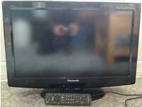 "Panasonic 26"" LED TV with Remote Control"