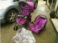Obaby Monty Travel System (Stroller and car seat)