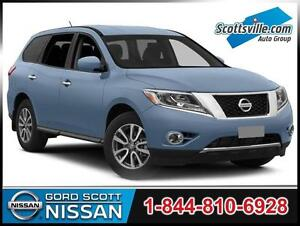 2015 Nissan Pathfinder SL 4WD, Leather, Trailer Tow Pkg, Cruise