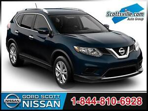 2014 Nissan Rogue SL AWD, Leather, Sunroof, Nav, Driver Alerts
