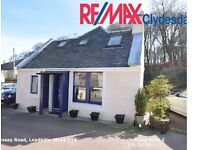2 Bed/2 Bath Detached Cottage with Parking & Large Garden in Leadhills
