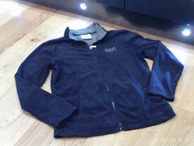 EVERLAST new full zip up navy fleece size 8