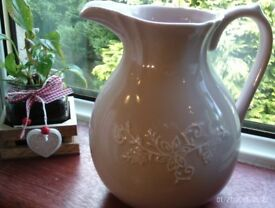 NEW pink serving jug 21x21cm
