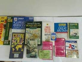 Collection of atlases and maps