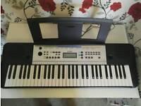 New Yamaha YPT 255 keyboard
