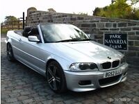 BMW 318 Ci Convertible, Fully Electric Roof, 2002 52 reg In Silver, 4 New Tyres And Back Brake Pads