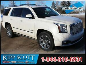 2015 GMC Yukon Denali, Leather, Nav, HUD, Power Steps, Sunroof