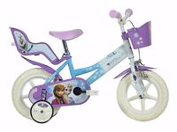"12"" Frozen Kids bike"