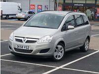 *New FACELIFT Model* Vauxhall Zafira B 1.6 Life 7 Seater like vw touran sharan, ford galaxy, Mazda 5