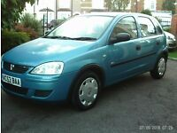 NICE CLEAN EXAMPLE VAUXHALL CORSA 53 PLATE 2003 LADY OWNER MOT TILL NEXT YEAR JUNE DRIVES LIKE NEW