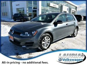 2015 Volkswagen Golf 1.8 TSI Trendline Manual