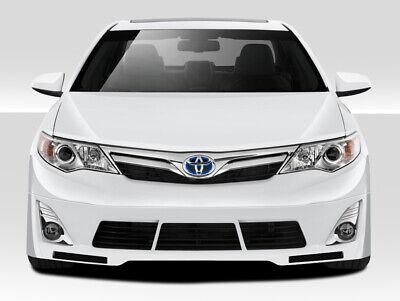 12-14 Toyota Camry Racer Duraflex Front Bumper Lip Body Kit!!! 109339