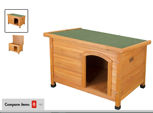 Wood kennel  - lid lifts up and floor comes out for easy cleaning Oakville Hawkesbury Area Preview