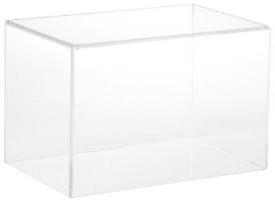 Plymor Clear Acrylic Display Case With No Base 9 W X 6 D X 6 H