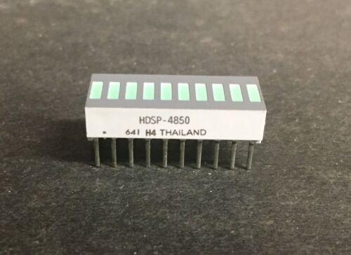 Avago HDSP-4850 LED Uni-Color Green 566nm 20-Pin (1pc)