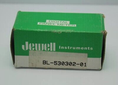 Jewell Bl-530302-01u Digital Panel Voltage Meter New