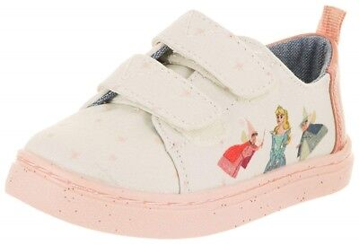 Pink Fairy Schuhe (Disney X TOMS Pink Fairy Godmother Tiny TOMS Lenny Sneaker Shoe)