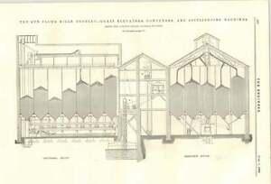 1894-Lewis-Allen-Flooring-Cramps-Sun-Flour-Mills-Bromley-Grain-Elevator-Conveyor