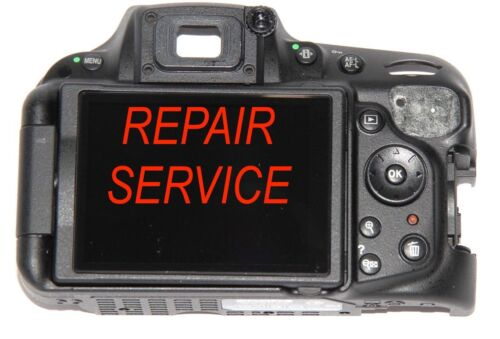 NIKON D5200 Rear Cover with LCD Complete Assembly Repair Service