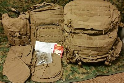 New FILBE Complete System Ruck Assault Pack Hydration System Pouch Eagle Ind.