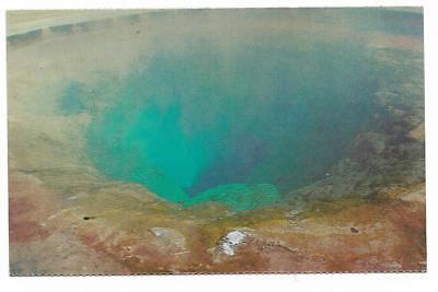 Vintage Wyoming Chrome Postcard Morning Glory Pool Yellowstone National Park ()