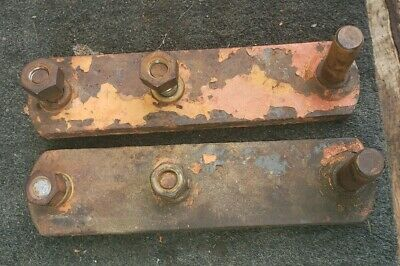 Allis Chalmers Wd Tractor Ac Original Cylinder Mounting Brackets Bracket 45
