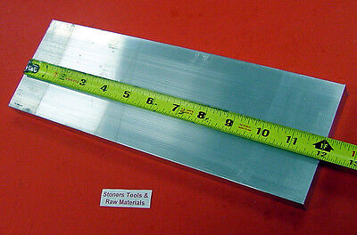 14 X 4 Aluminum 6061 Flat Bar 12 Long T6511 New Mill Stock .25x 4.00