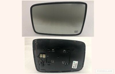 2010-2017 dodge ram 1500 left side power folding mirror glass with heat