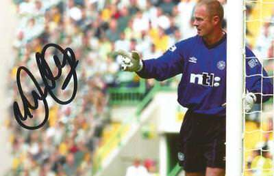 CELTIC: JONATHAN GOULD SIGNED ACTION PHOTO+COA
