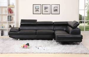 Brand New PU Leather & Fabric Chaise / L Shape /Lounge Sofa Set Bundall Gold Coast City Preview