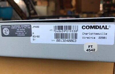 Comdial Dsu Ii Jm408 4 Line By 8 Station Expansion Module Module