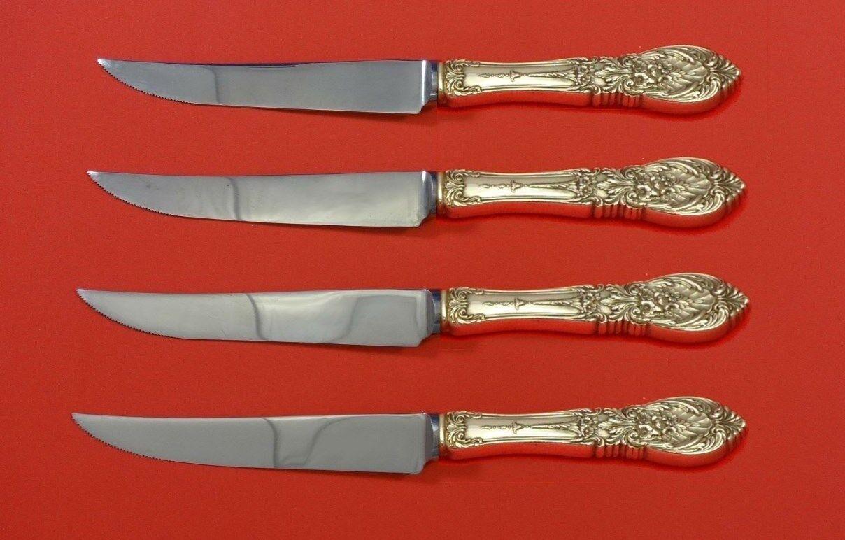Richelieu By International Sterling Silver Steak Knife Set