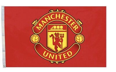 MANCHESTER United  Flag Banner 3x5 ft Soccer New Futbol Club - Soccer Banners