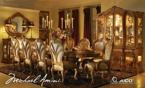 AICO by Michael Amini Trevi 9PC rectangular dining room set