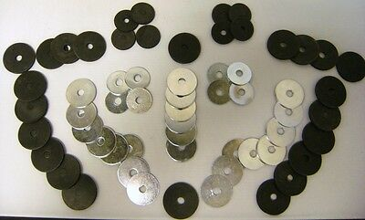 1939 1940 Ford Fender Washer Kit Set Of 60 Pieces - Metal & Rubber Washers