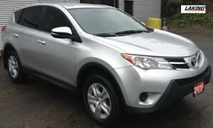 2015 Toyota RAV4 LE AWD AFFORDABLE COMPACT SUV! One Owner,Blueto