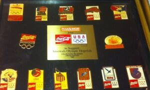 Coca cola Cocacola Coca-cola Olimpiadi 1992 Team USA Collezione Coke Pins 13 pz - Milano, Italia - Coca cola Cocacola Coca-cola Olimpiadi 1992 Team USA Collezione Coke Pins 13 pz - Milano, Italia